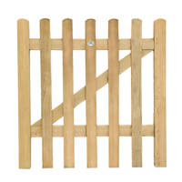 Forest Ultima Pale Garden Gate 900 x 900mm Natural Timber
