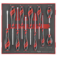 Teng Tools TED911N Mixed  EVA Screwdriver Set 11 Pieces