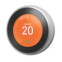 Nest  Smart Thermostat & Hot Water Control Silver