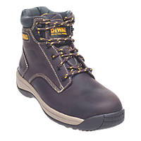 8a56711f62a DeWalt Bolster Safety Boots Brown Size 9 | Safety Boots | Screwfix.com