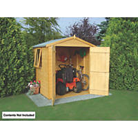 Shire 6' x 6' (Nominal) Apex Shiplap T&G Timber Shed