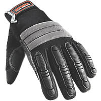 Scruffs T52801 Shock Impact Gloves Black & Grey  X Large