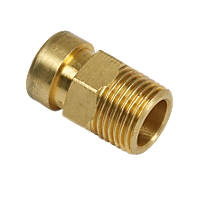 Tectite Sprint  Brass Push-Fit Adapting Male Coupler 15mm x ½""