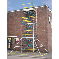 Lyte  Double Depth Aluminium Frame Tower 6.2m
