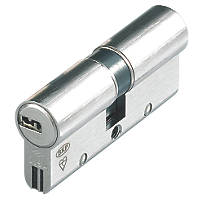 Cisa  Astral S Series 10-Pin Euro Double Cylinder 45-50 (95mm) Nickel-Plated