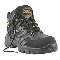 Stanley FatMax Ontario Waterproof Safety Boots Black Size 9