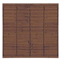 Grange Professional Lap Fence Panels 1.83 x 1.8m 10 Pack