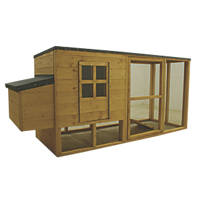 Shire Timber Chicken Coop 2020 x 780 x 1040mm