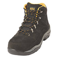 Site Ammolite   Safety Boots Black Size 8