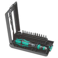 Wera Kraftform Kompakt Interchangeable Screwdriver Set 12 Pieces
