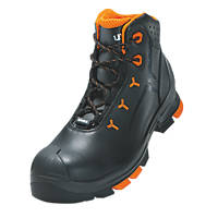 Uvex 2   Safety Boots Black Size 9