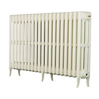 Arroll  4-Column Cast Iron Radiator 660 x 1114mm White