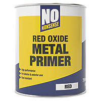 No Nonsense Red Oxide Metal Primer & Undercoat 750ml