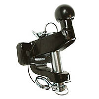 Maypole 20 kg Black Ball & Pin Towing Hitch 179mm