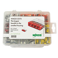 Wago 2273 Series Push-Wire Connector Set 200 Pieces