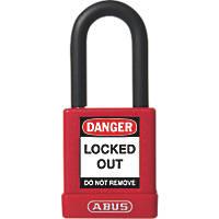 Abus  Aluminium Keyed-Alike Lock-Off Padlock Red 19 x 38mm