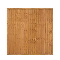 Larchlap Closeboard Fence Panels 1.83 x 1.83m 7 Pack