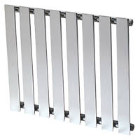 Reina Pienza Designer Radiator 550 x 655mm Chrome