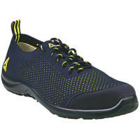 Delta Plus Summer   Safety Trainers Blue / Yellow Size 8