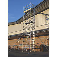 Lyte Helix Single Depth Aluminium Industrial Tower 6.7m