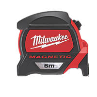 Milwaukee 48227305  5m Magnetic Tape Measure
