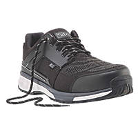 Site Agile Sports-Style Safety Trainers Black  Size 10