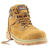 Scruffs Palermo Safety Boots Honey Size 9