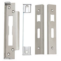 Smith & Locke 13mm Rebate Set Satin Stainless Steel