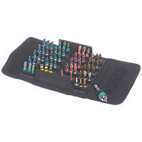 Wera Bit-Safe   Mixed BiTorsion Rapidaptor Screwdriver Bit Set 61 Pieces