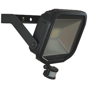 Luceco Guardian Slim LED PIR Floodlight Black 38W Cool ...