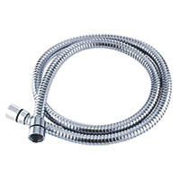 Triton Shower Hose Chrome 10mm x 2m
