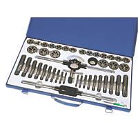 Hilka Pro-Craft Tungsten Steel Tap & Die Set 45 Pieces
