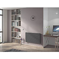 Ximax Fortuna Designer Radiator 584 x 1000mm Anthracite 3171BTU