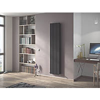 Ximax Fortuna Designer Radiator 1800 x 294mm Anthracite 3127BTU