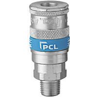 "PCL AC91CM Vertex Male Coupling Socket ¼"""
