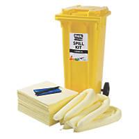Lubetech Black & White 120Ltr Chemical Spill Response Kit
