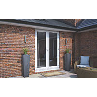 ATT Model 4 uPVC Dual French Door White 1190 x 2090mm