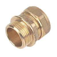 """Compression Adapting Male Coupler 28mm x 1"""""""