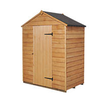 Forest 5' x 3' (Nominal) Apex Overlap Timber Shed with Assembly