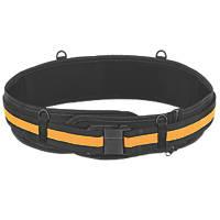 "Toughbuilt TB-CT-41B Padded Work Belt Yellow / Black 32-48"""