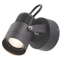 Elite Black LED Wall Light 470lm 6W