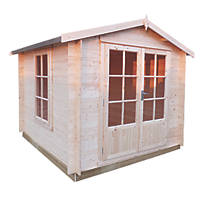 Shire Barnsdale Log Cabin 8 x 8'