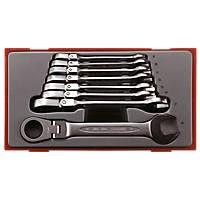 Teng Tools Flexible Combination Ratchet Spanner Set 8 Pieces