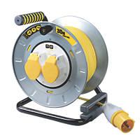 PRO XT 16A 2-Gang 30m  Cable Reel 110V