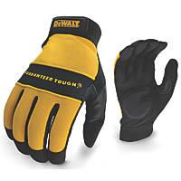 DeWalt DPG21L EU Heavy Utility General Handling Gloves Black/Yellow Large