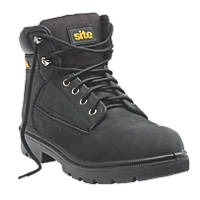 Site Marble   Safety Boots Black  Size 8