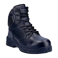 Magnum Strike Force 6.0 Metal Free  Safety Boots Black Size 4