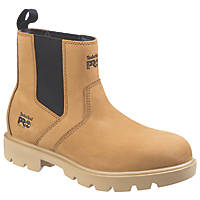 Timberland Pro Sawhorse   Safety Dealer Boots Wheat Size 10
