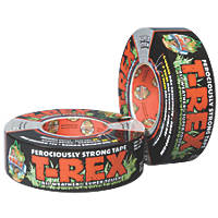 T-Rex Ferociously Strong Cloth Tape  Mesh Graphite Grey 11m x 48mm