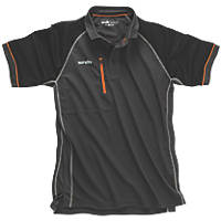 "Scruffs Trade Active Polo  Graphite  X Large 44"" Chest"